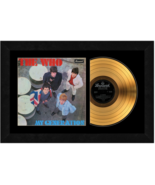 """""""My Generation"""" by The Who 17 x 26 Framed 24kt Gold Album with Album Cover  - $198.95"""