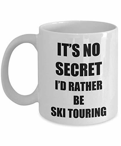 Ski Touring Mug Sport Fan Lover Funny Gift Idea Novelty Gag Coffee Tea Cup