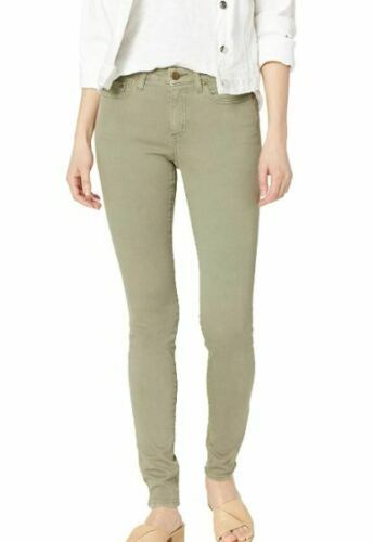 Daily Ritual 5 Pocket Skinny Jeans, Sage Green,(SIZE 24 SHORT) NEW WITH TAGS