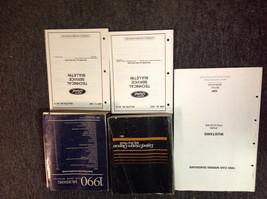 1990 Ford Mustang Gt Cobra Service Shop Repair Manual SET W EWD + Powertrain Bk - $247.45