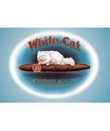 White-Cat Cigars - Art Print - $19.99+