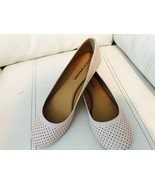 NIB Lucky Brand Size 6.5 Peach Whip Women's Everlee Flats Leather - $39.56