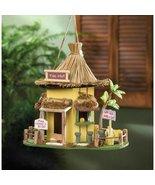 Birdhouses Garden Yard Decor TIKI HUT BIRDHOUSE Tropics With Cleanout - $25.15