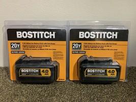 BCB204 Bostitch 20v MAX 4.0Ah Lithium Ion Battery Pack w/Fuel Gauge (LOT... - $107.00