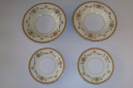Noritake Valdina 2 Bread And Butter Plates & 2 Soup Bowls - $39.99