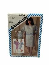 Simplicity 6154 Misses Jessica McClintock Dress Collar Sewing Pattern Si... - $14.84