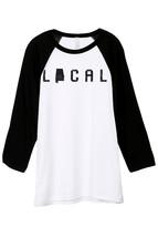 Thread Tank Local Alabama State Unisex 3/4 Sleeves Baseball Raglan T-Shirt Tee W - $24.99+