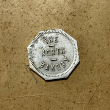 """The North Bakery """"Good For One Loaf Bread"""" Trade Token North, SC South C... - $19.79"""