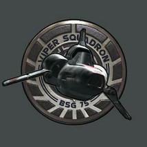 Battlestar Galactica NEW TV Series Viper Squadron Logo T-Shirt NEW UNWORN - $19.34+