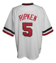Cal Ripken #5 Rochester Red Wings Baseball Jersey Button Down White Any Size image 2