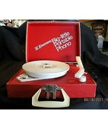 VTG EMERSON BIG-LITTLE PORTABLE PHONO RECORD PLAYER  - $68.28