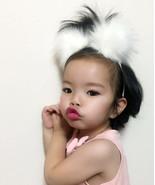 Kids Furry Headband, Fun Pom Pom Headband for Toddlers, Cute Girls Fuzzy... - $9.85