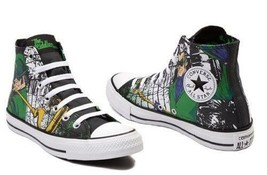 Converse The Riddler DC COMICS Batman Gotham Villain Chuck Taylor 148914C - $42.00