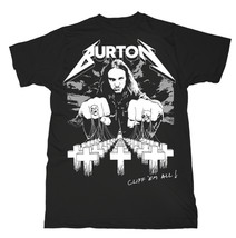 Cliff Burton Master of Puppets Metallica Official Tee T-Shirt Mens Unisex - $24.99