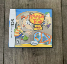 Phineas and Ferb: Ride Again (Nintendo DS, 2010) With manual and case - $6.71