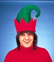 Jingle Bell Santa's Helper Elf Hat Goofy Hats Christmas Costumes - $4.99