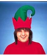 Jingle Bell Santa's Helper Elf Hat Goofy Hats Christmas Costumes - $4.99