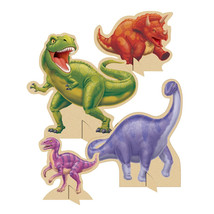 Dino Blast Standup Centerpiece with cutouts/Case of 6 - £29.81 GBP