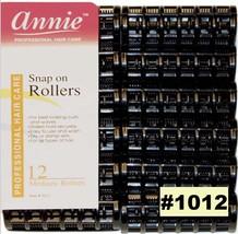 """ANNIE #1012 SNAP ON ROLLERS 12 MEDIUM ROLLERS 3/4"""" DIAMETER"""