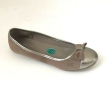 Seychelles Anthropologie Womens Ballet Flats Size 7.5 Brown Gold Shoes S... - $14.24