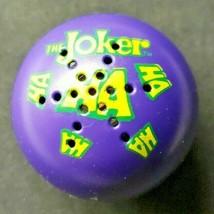 Vintage 1989 Batman The Joker Electronic Laughing Ball No Box W/Batteries WORKS! - $59.99