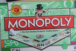 FAST Dealing  MONOPOLY REAL ESTATE TRADING BOARD GAME BY PARKER BROS - $16.69