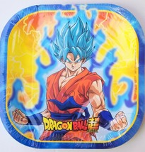 Dragon Ball Z Party PLATES LUNCH Treats Supplies Decoration Loot Asian B... - $16.81