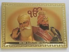 Sikh Guru Nanak Gobind Singh Ji Ek Onkar Fridge Magnet Souvenir Collecti... - $290.42