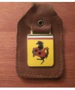 Ferrari FAF Leather Key Fob - $40.00