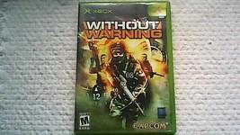 Without Warning (Microsoft Xbox, 2005) - $6.99