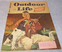Outdoor Life Sporting Magazine October 1944 Back Issue J.F Kernan  Fish ... - $9.95