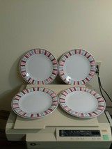 Longaberger Stars and Stripes Melamine Plates - Set of 4 - Dinner Plates - $29.65