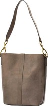 Frye Ilana Harness Bucket Hobo Bag $458 in Grey Antique Vegetable Tanned... - ₨29,494.60 INR
