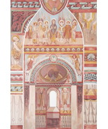 CHURCH PAINTINGS Romanesque France at Saint-Chef - 1888 COLOR Litho Print - $25.20