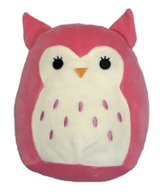 """Squishmallow Kellytoy 8"""" Hoot the Pink Owl Super Soft Squishy Plush Toy ... - $15.83"""