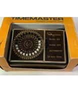 Timemaster Ingraham 12-050 24 Hour Programmable Timer 15 Amp 120 V - $14.80