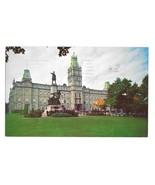 Quebec Canada Parliament Building Le Parlement Vntg S J Haywawrd Photo P... - $3.99