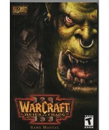 Warcraft Reign of Chaos Game Manual - Blizzard Entertainment - SC - 2002. - $1.47