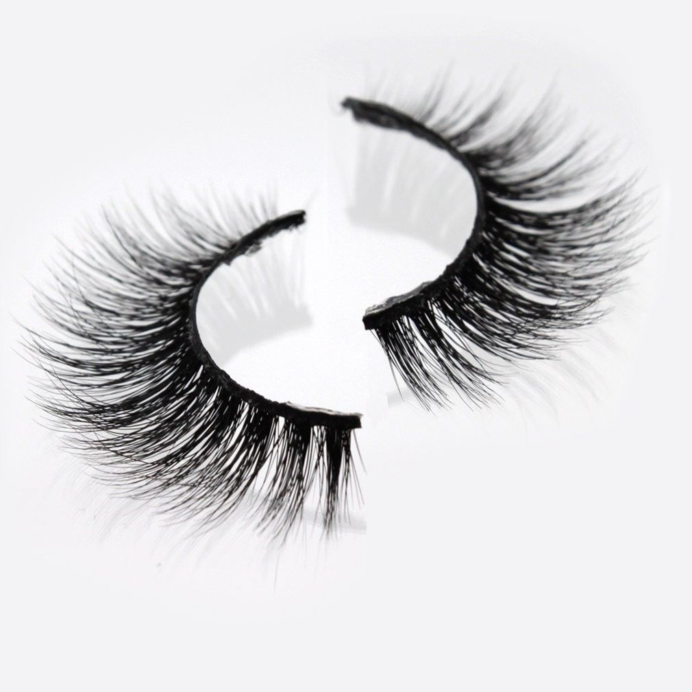 Primary image for Handmade Wispy Real Mink Fur 3D Thick and Charming False Eyelashes Natural Exten