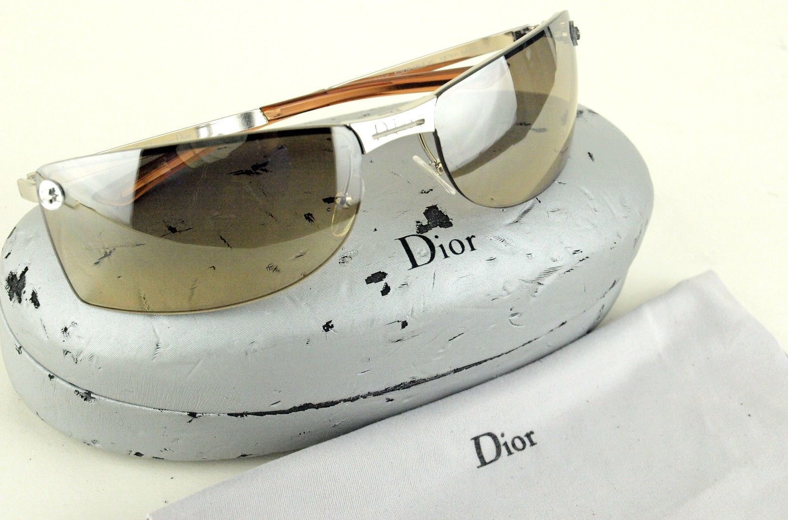 519f2ab46573b Auth Christian Dior Unisex Sunglass and 28 similar items. 57