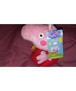 "Ty Beanies Peppa Pig Stuffed Animal, 6"" - $12.99"