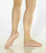 So Danca BAE90L Women's Size 9M (fits 11) Pink Leather Full Sole Ballet ... - $14.84