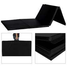 "4'x10'x2"" Thick Gymnastics Mat Folding Yoga Mat Panel Home Gym Exercise ... - $89.99+"
