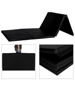 "4'x10'x2"" Thick Gymnastics Mat Folding Yoga Mat Panel Home Gym Exercise ... - $89.99+"
