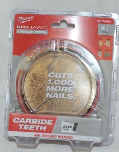 Milwaukee 49569255 Big Hawg Carbide Teeth Nail Embedded Wood