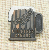 Bingeman Park Kitchener Canada Beer Mug Novelty Pin Tie Tack - $19.80