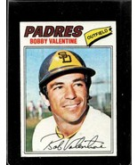 1977 TOPPS #629 BOBBY VALENTINE EXMT PADRES NICELY CENTRED  *X2302 - $2.97