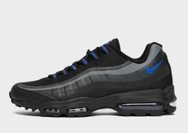 Nike Air Max 95 Ultra Se Schwarz/Grau/Blau Premium Turnschuhe/Schuhe - $275.53