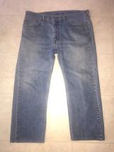 LEVI STRAUSS 505 JEANS ~ Men's 38/25 Regular Fit Levi's Red Tab Pants - $14.30