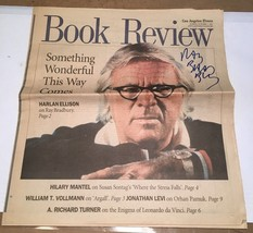 Ray Bradbury LA Times Book Review - Signed - $49.00